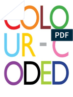Colour Coded 19x19
