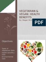 vegetarian & vegan presentation