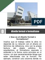 Diseño Formal o Formalismo