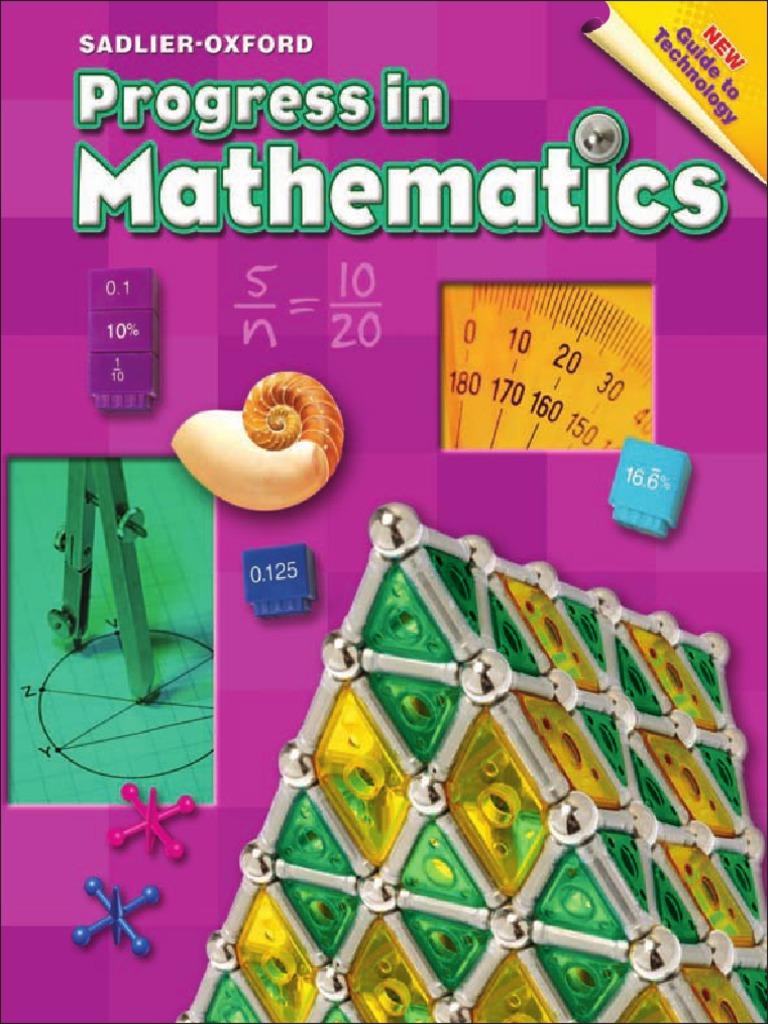 Progress in Mathematics Grade 6 | Fraction (Mathematics) | Area