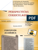 perspectivas curriculares