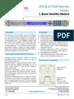 Paradise Datacom PD55 Evolution L-band Satellite Modem Data Sheet 205084 RevL