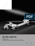 D11368e Rear Axles Planetary-hub