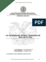 Ley de Bienes Del Estado y Municipios de San Luis Potosí