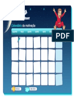 Calendario Menino 4a7 Happyjama