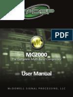 McDSP MC2000 Plug-In Manual