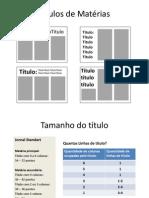 Diagramação Jornal