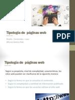 Tipologia de Paginas Web ( y Referentes)