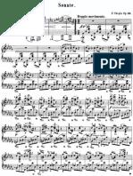 Chopin - Piano Sonata Op 35