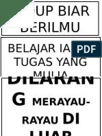 Poster Kelas