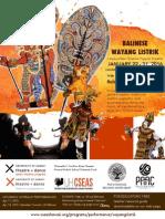 Balinese Wayang Listrik 2016