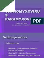 [MIKROBIOLOGI] IT 20 - Orthomyxovirus, Paramyxovirus - KHS