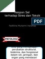 Respon Sel Terhadap Stres Dan Toksik Fadhlina