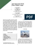 F-22 Supersonic JDAM