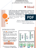 Low BCR-ABL Expression Levels in Hematopoietic Precursor Cells