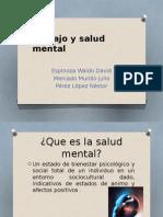 Trabajo y Salud Mental