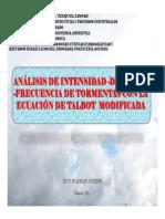 ANÁLISIS DE TORMENTAS EXTREMAS
