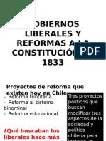 Gobiernos Liberales y Reformas