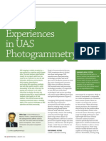 Experiences in UAS Photogrammetry GIM0113 PIEneering
