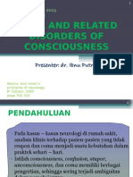 Coma and Related Disorders of Consciousness Tra