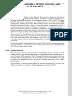 CH 7 - Part III-Allowables Stress Design (ASD) Alternatice