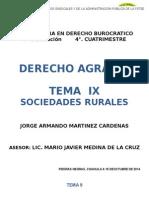 Las Sociedades Rurales
