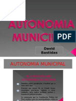 Autonomía Municipal