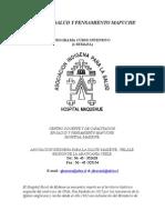 Curso en Salud y Pensamiento Mapuche
