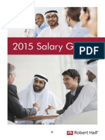 Robert Half Middle East Salary Guide 2015
