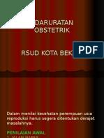kedaruratan obsgin RSUD