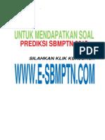 soal latihan SBMPTN 2015