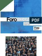 Sonia Marta Mora - MEP - ¿Cómo ayudar a quienes viven en las más adversas condiciones de pobreza?