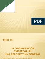 TEMA 1 Org. Empresarial. Una Perspectiva Global