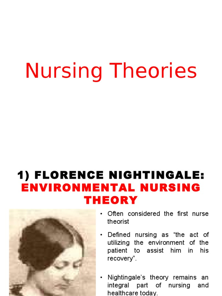 florence nightingale environmental theory and contributions to nursing essay Nightingale's environmental theory in nursing practice how does florence nightingale's environmental theory incorporate we do not resell nursing papers.