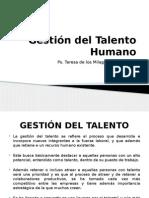 Gestión Del Talento Humano.