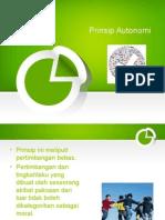 Prinsip Autonomi
