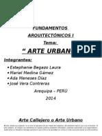 Arte Urbano y Callejero