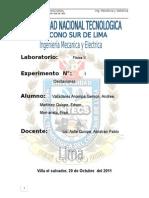 Informe Nª 1 FISICA II(Elasticidad) by Andree