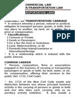 Transportation Laws