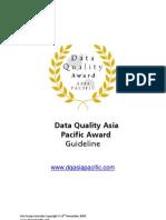 Data Quality / MDM Award
