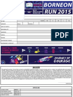 Borneon Run 2015 Form