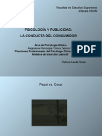 PSICOLOGÍA Y PUBLICIDAD