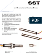 Oxygen Sensor Operating Principle Application Note