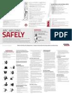 SAFETY - Arc Welding Fire Hazard