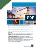 HFW Construction Bulletin March 2015