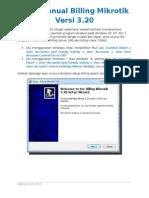 User Manual BillingMikrotik v3.20