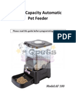 TopPets Large Automatic Pet Feeder Electronic Programmable Portion