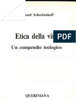 Schockenhoff Un´Etica per la Vitta