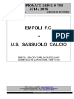 Empoli-Sassuolo - 28° giornata serie A (1)
