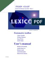 Lexico3 User Manual